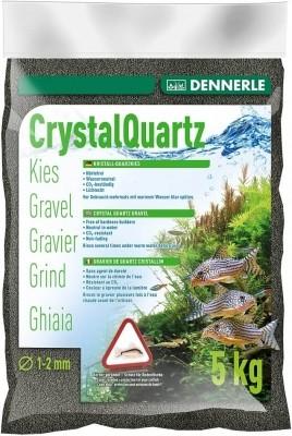 DENNERLE Gravier quartz cristallin noir diamant 1-2mm