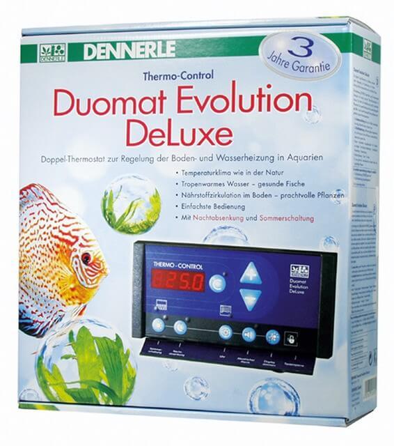 Duomat evolution deluxe double thermostat r glage du chauffage du sol et de l 39 eau chauffage - Reglage thermostat chauffage gaz ...