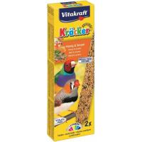 Friandises Kräcker Miel et Sésame pour oiseaux exotiques