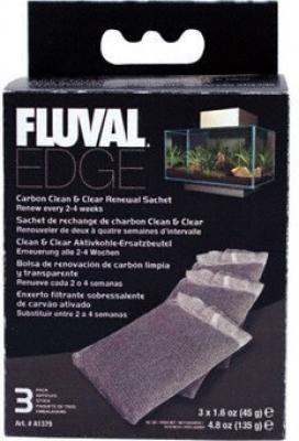 Recharge charbon pour aquarium Fluval Edge