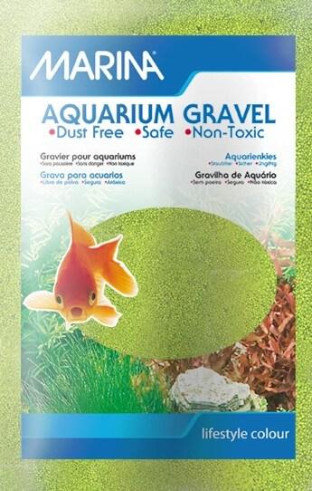 Marina Aquarium Gravel - Green