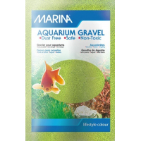 Gravier Marina couleur vert anis