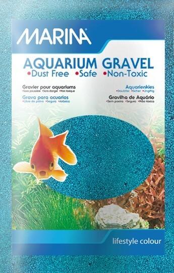 Gravier marina couleur bleu sable et gravier aquarium for Gravier pour aquarium