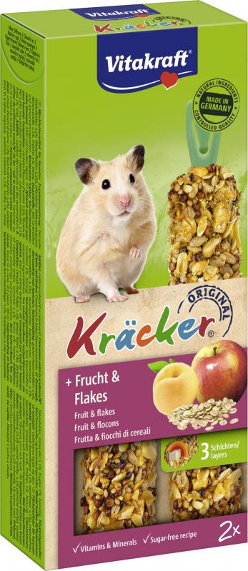 Kräcker Fruits et Flocons Hamsters