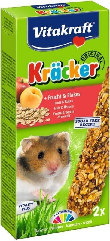 Kräcker Fruits et Flocons Hamsters