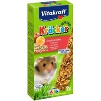 Snack, Kräcker mit Früchten für Hamster, 2er-Pack