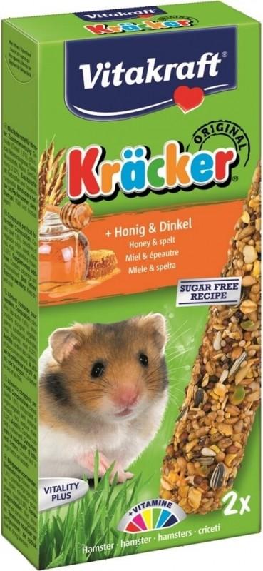 Kräcker Miel et Epeautre pour hamsters