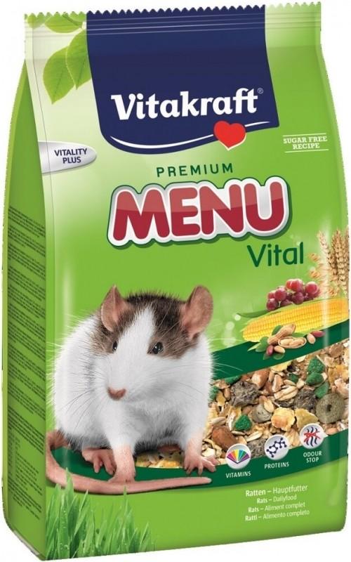 Menu Super Premium Rats