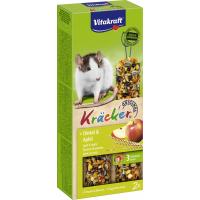 Leckerlis Futtersticks mit Körnern und Früchten für Ratten x2