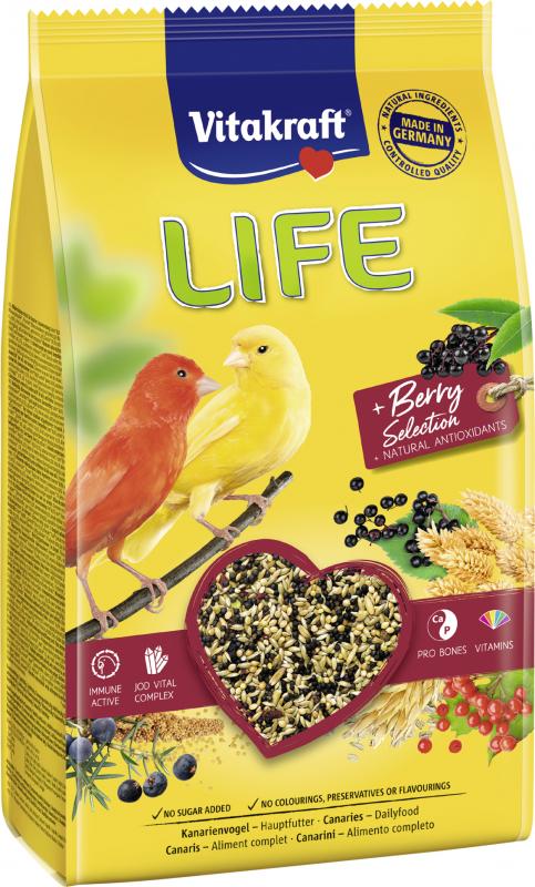 Life Power Hauptfutter für Kanarienfutter - 800g