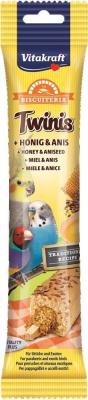 Golosinas Twinis miel & anis para Periquitos/ Exóticos 30 gr