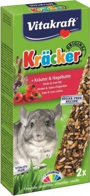 Kräcker aux herbes et baies d'églantier pour chinchillas