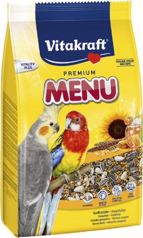 Super Premium Menu Parrot Food
