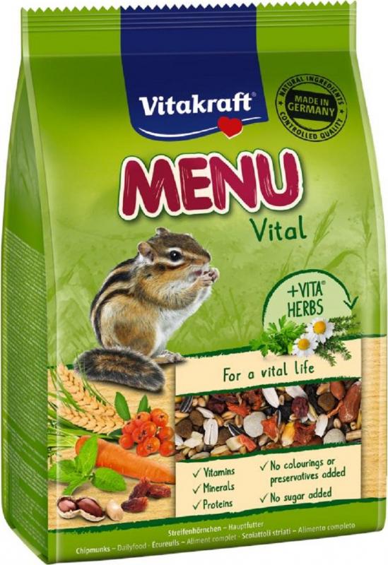 Aliment complet Menu Premium Ecureuils