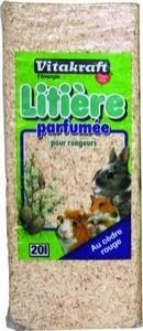Copos para lecho de roedores perfumado de cedro