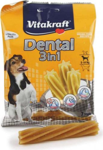 Sticks à mâcher Dental 3 en 1, Petit Chien