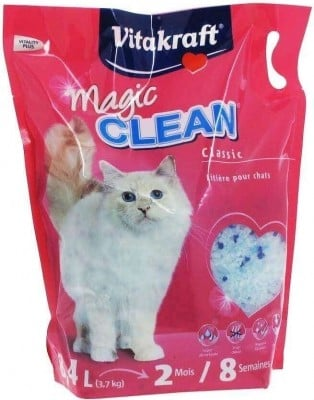 Litière Silice Magic Clean