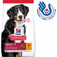 HILL'S Science Plan Canine Adult Large Breed pour chien adulte de grande taille au poulet