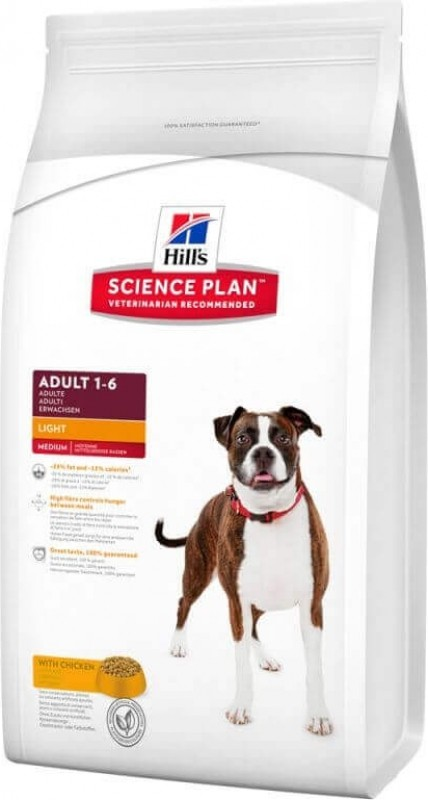 HILL'S Science Plan Adult Light au Poulet pour Chien Adulte en surpoids