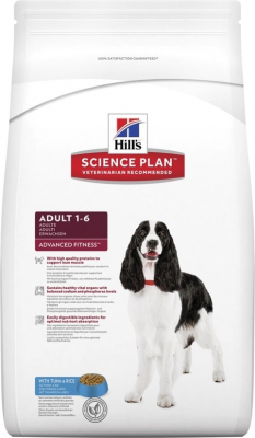 Hill's Chien Adulte Thon & Riz Advanced Fitness