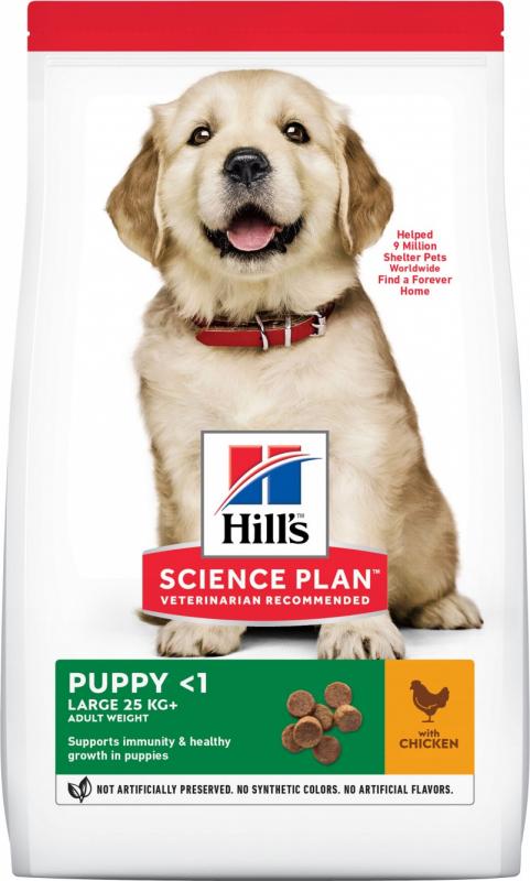 HILL'S Science Plan Canine Puppy Large Breed pour chiot de grande taille au poulet