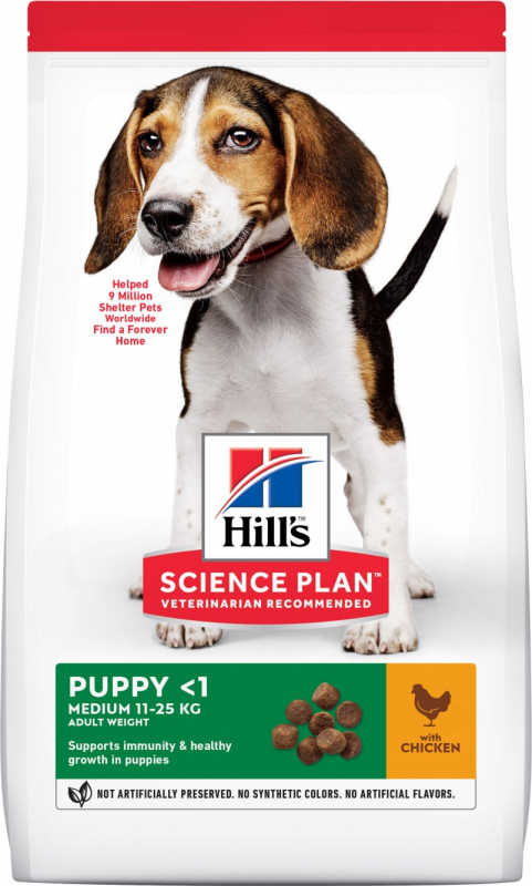 HILL'S Science Plan Canine Puppy Medium
