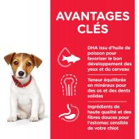 HILL'S Science Plan Canine Puppy Small & Mini croquettes pour chiot de petite taille au poulet