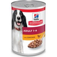 Pâtée HILL'S Science Plan Canine pâtée pour chien adulte au poulet