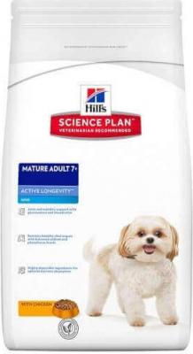 HILL'S Science Plan Mature Adult 7+ Active Longevity pour chien adulte de petite taille