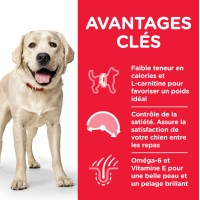 HILL'S Science Plan Adult Large Breed LIGHT pour chien adulte de grande taille