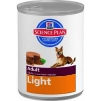 Hill's Chien Adulte Light boîte 370gr X12