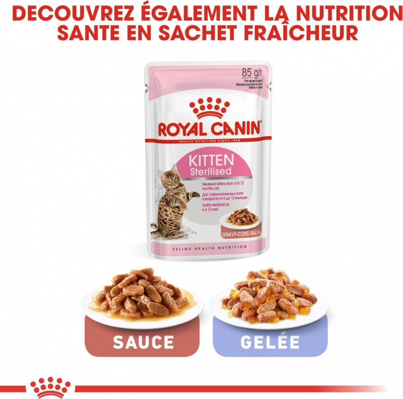 Royal Canin Kitten Sterilised de 6 à 12 mois