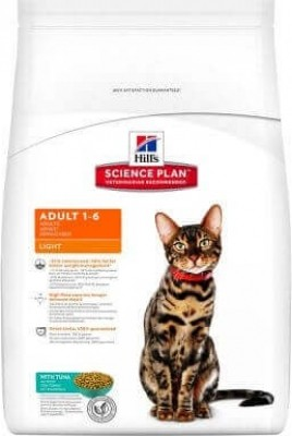 HILL'S Science Plan Adult Light au Thon pour chat adulte en surpoids
