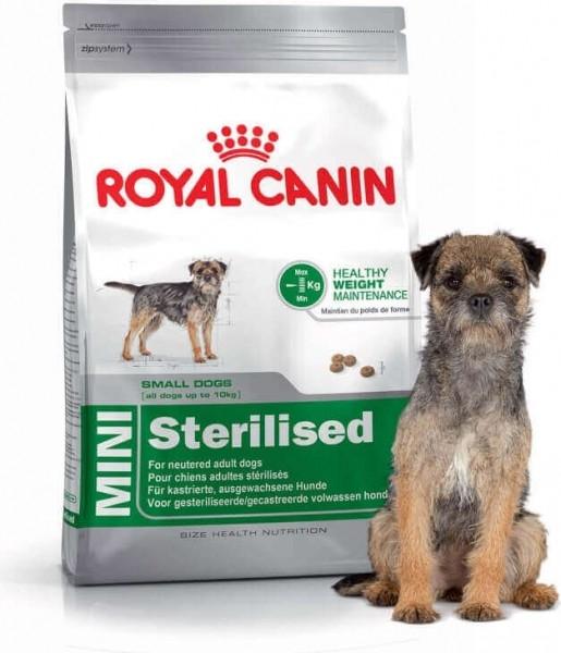 Pienso Mini Sterilised para perros de tamaño pequeño esterilizados