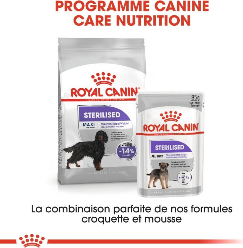 Royal Canin Maxi adulte Sterilised