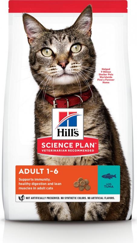HILL'S Science Plan Feline Adult Thon pour Chat Adulte