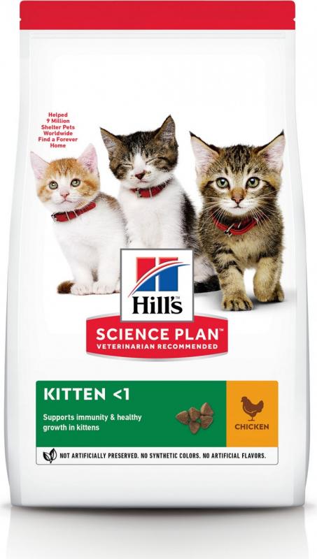Hill's Science Plan Feline Kitten croquettes pour chaton au poulet