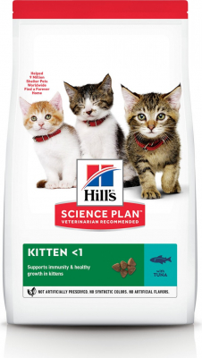 HILL'S Science Plan Feline Kitten au Thon pour chaton