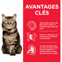 HILL'S Science Plan Mature Adult 7+ Hairball Indoor pour chat senior d'intérieur