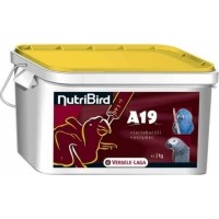NutriBird A19 Elevage à la main pour Aras, eclectus et perroquets gris du Gabon