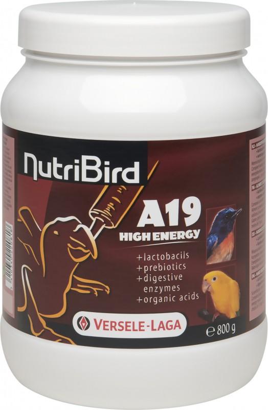 NutriBird A19 High Energy pour l'élevage des oiseaux à la main