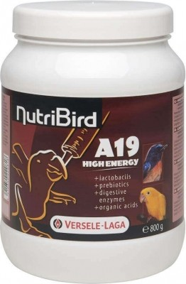 NutriBird A 19 High Energy pour l'élevage à la main pour les oisillons à hauts besoins énergétiques