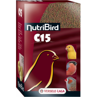 NutriBird C 15 aliment d'entretien pour canaris, oiseaux exotiques et indigènes
