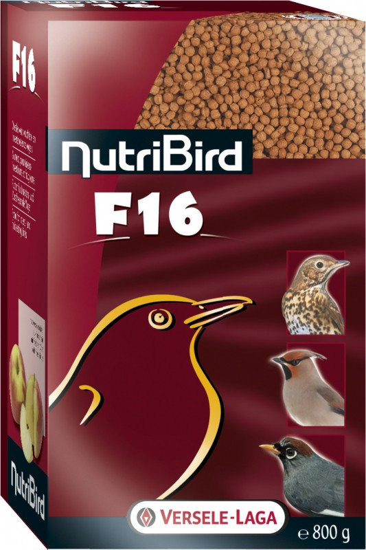 NutriBird F16 pour pigeons frugivores et frugi-insectivores