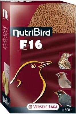 NutriBird F 16 para palomas frugívoras, arrendajos, zorzales y otros frugi e insectívoros