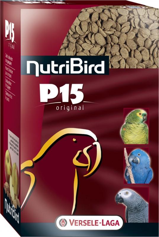NutriBird P 15 Original entretien pour perroquets