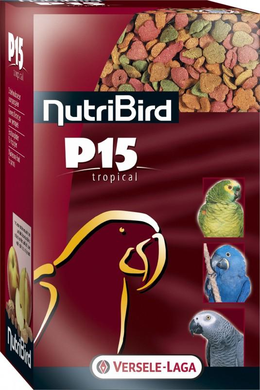NutriBird P 15 Tropical Comida para loros