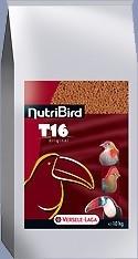 NutriBird T 16 Original entretien pour toucans, touracos et autres grands frugivores