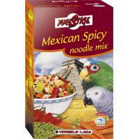 Mexican Spicy Noodle Mix mezcla de verduras & picante. Pasta tricolor para loros y periquitos grandes