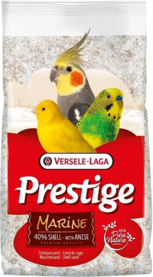 Prestige Premium Marine Fond de cage sable blanc à l'anis avec 40% d'écailles
